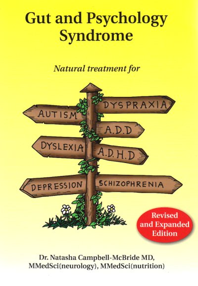 Gut and Psychology Syndrome: Natural Treatment for Autism, Dyspraxia, A.D.D., Dyslexia, A.D.H.D., Depression, Schizophrenia Google image from https://earthnourishing.files.wordpress.com/2014/02/gut-and-psychology-syndrome.png