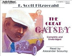 By F. Scott Fitzgerald - The Great Gatsby (Unabridged) (2002-03-16) [Audio CD]Alexander Scourby (Narrator)