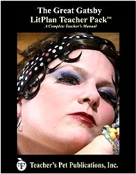 The Great Gatsby LitPlan - A Novel Unit Teacher Guide With Daily Lesson Plans (LitPlans on CD) by Mary B. Collins