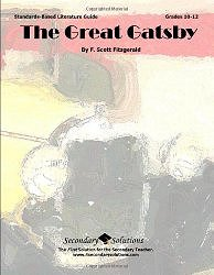 The Great Gatsby Literature Guide (Secondary Solutions) by Kristen Bowers