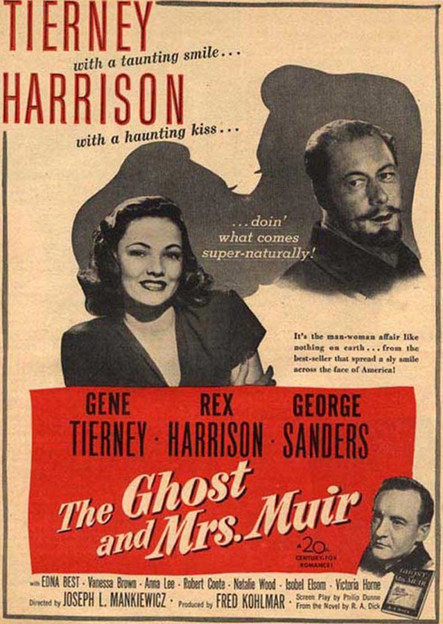 The Ghost and Mrs. Muir Movie Poster Google image from http://classic--movies.blogspot.ca/2011/10/ghost-and-mrs-muir.html