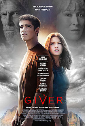 The Giver (2014) Movie Poster Google image from http://upload.wikimedia.org/wikipedia/en/0/02/The_Giver_poster.jpg