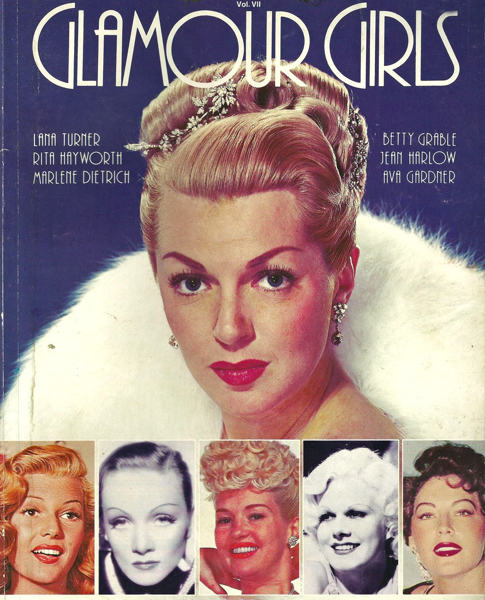 Glamour Girls 1940s Google image from http://hair-and-makeup-artist.com/wordpress/wp-content/uploads/2012/01/Mag-cover-1940s.jpg