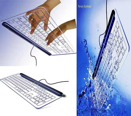 No Key Glass Keyboard Google image from http://www.techgadgets.in/peripherals/2008/14/delicate-no-key-keyboard-reflects-in-glass/