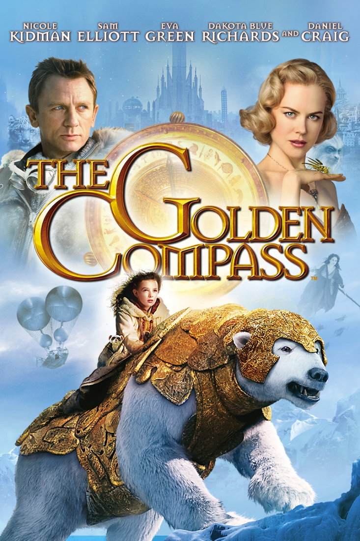 Golden Compass (2007) Movie Poster Google image from http://www.skybucket3d.com/film-and-tv/o