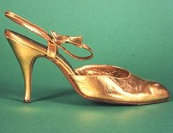 Gold  Shoe Google image from http://www.museumofcostume.co.uk/images/collections_4shoes%282%29.jpg