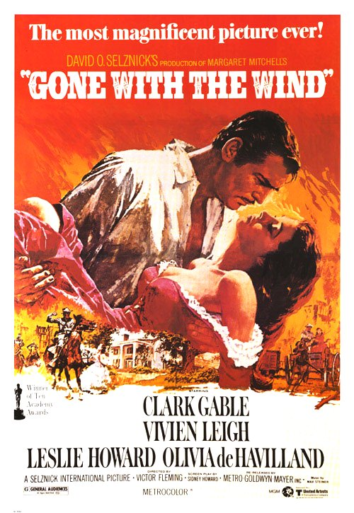 Gone with the Wind Movie Poster Google image from https://www.movieposter.com/posters/archive/main/6/b70-3219