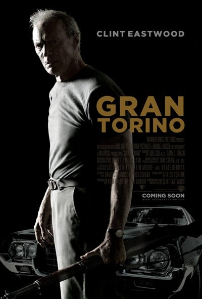 Gran Torino Movie Poster Google image from http://anotherbeautifulday.files.wordpress.com/2009/12/grantorinoposter.jpg