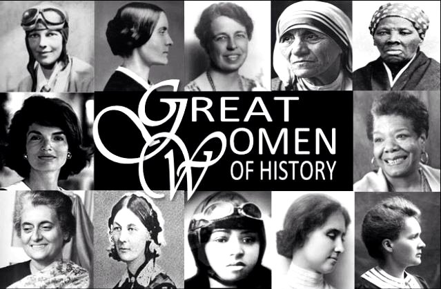 Great Women in History Google image from https://s-media-cache-ak0.pinimg.com/736x/4d/5e/95/4d5e953b31e58ebf9d4a8a6f1118aff7.jpg
