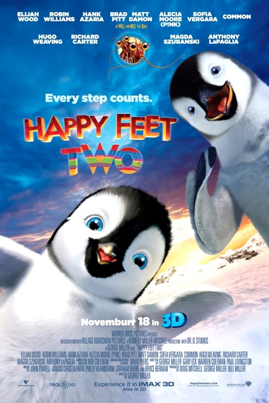 Happy Feet Two (2011) Movie Poster Google image from https://reelreactions.files.wordpress.com/2011/11/happy-feet-two-movie-poster.jpg