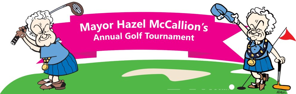 Mayor Hazel McCallion's Golf Tournament Google image from http://www.hazelscharitygolf.com/
