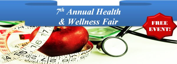 7th Annual Health and Wellness Fair at Centre for Health and Safety Innovation Banner image from http://chsicommunityevents.ca/index.php/homepage/upcoming-events/event/17/7th-Annual-Health-&-Wellness-Fair