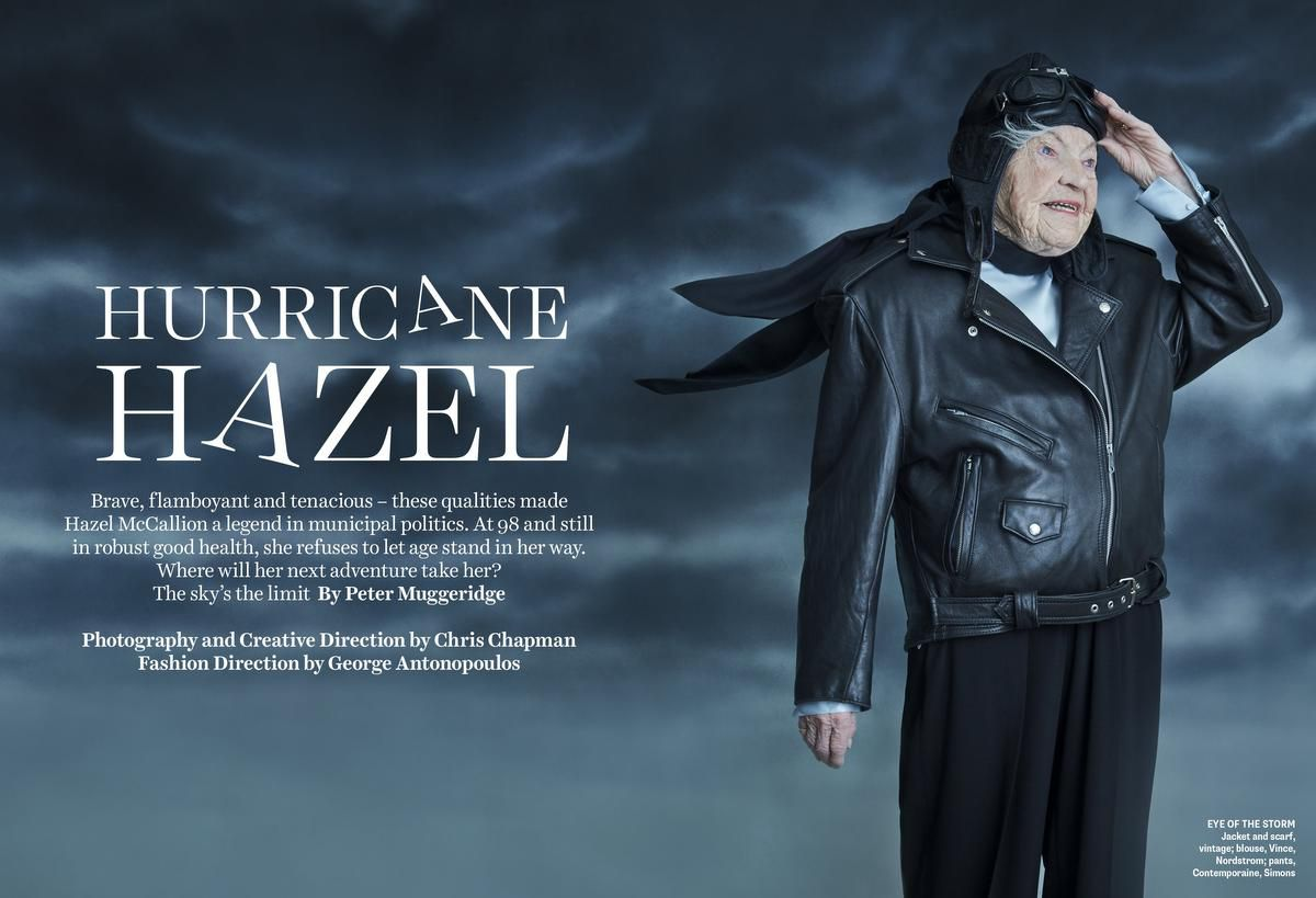 Hazel McCallion in leather pilot outfit p3031.jpg Google image from https://www.thestar.com/entertainment/opinion/2019/04/12/at-age-98-hazel-mccallion-is-ready-for-her-fashion-shoot-but-make-it-quick-shes-busy.html