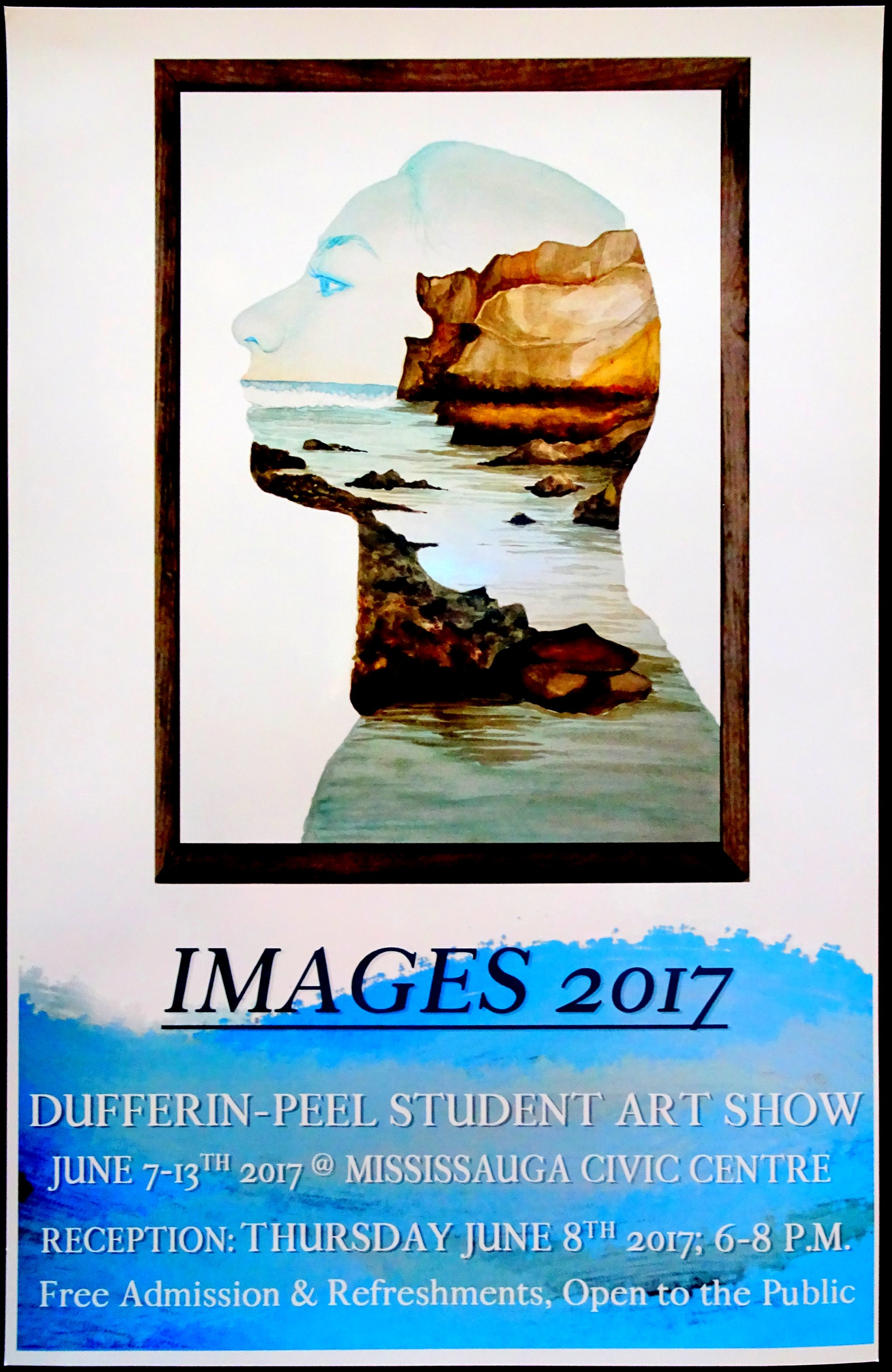 Images 2017 DPCDSB Visual Arts Secondary Student Exhibition, photo by I Lee, 7 Jun 2017
