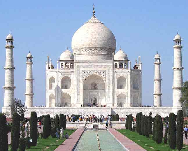 India Agra Taj Mahal Google image from http://www.solarnavigator.net/geography/geography_images/India_Taj_Mahal_2004.jpg