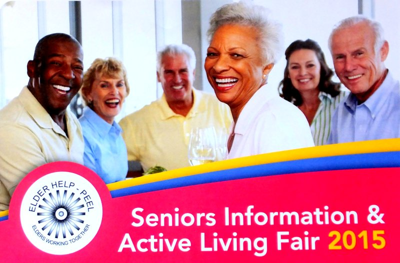Seniors Information and Active Living Fair 2015 image from Elder Help-Peel flyer