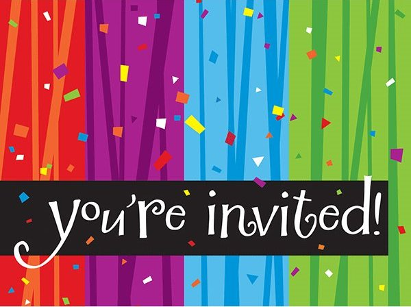 You are invited Google image from https://www.wallyspartyfactory.com/assets/Milestone-Celebrations-Foldover-Youre-Invited-Invitation-Cards.png