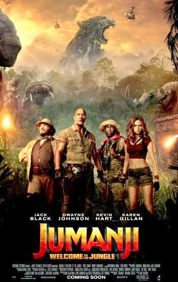 Jumanji: Welcome to the Jungle (2017) Movie Poster Google image from http://www.joblo.com/movie-posters/2017/jumanji-welcome-to-the-jungle#image-34407