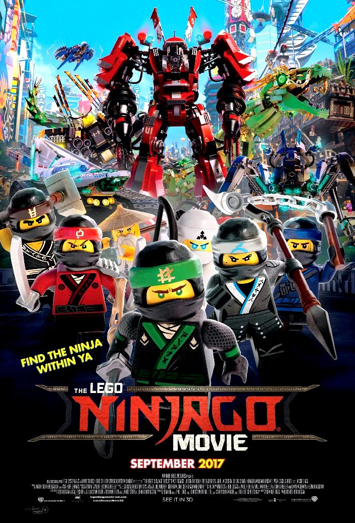 Lego Ninjago (2017) Movie Poster Google image from http://www.moviepostershop.com/the-lego-ninjago-movie-movie-poster-2017