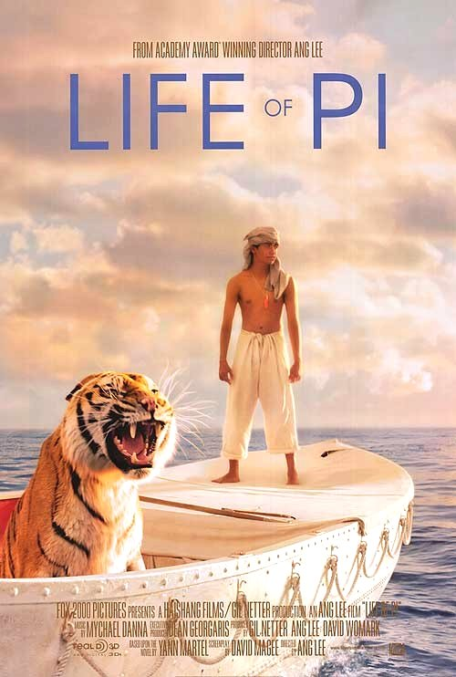 Life of Pi (2012) Movie Poster Google image from http://www.impawards.com/2012/posters/life_of_pi.jpg