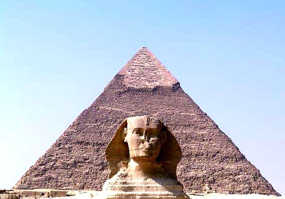 Egyptian Pyramid and Sphinx Google image from http://i0.wp.com/listverse.com/wp-content/uploads/2008/10/picture-7-5.png