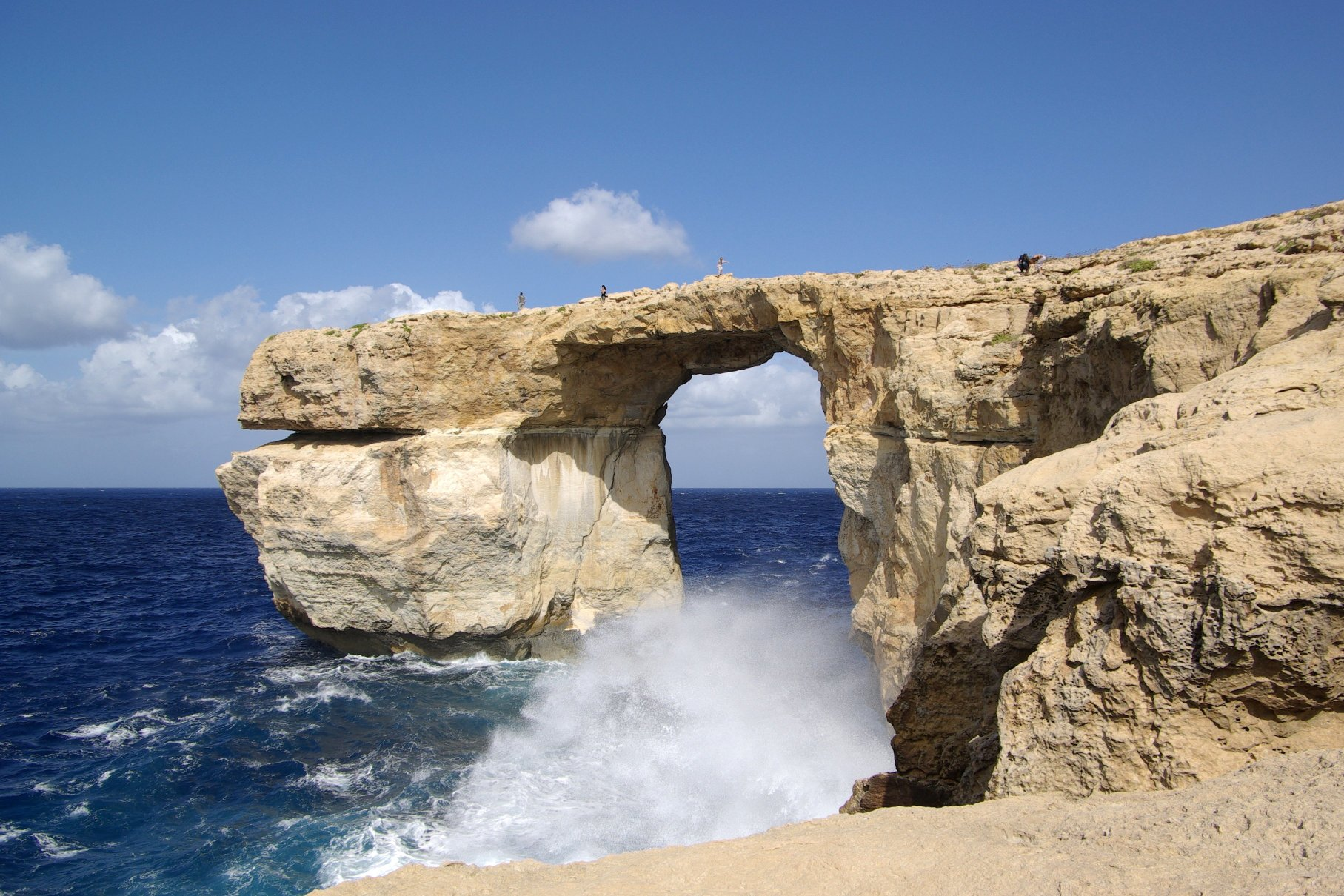 Malta Gozo Google image from http://upload.wikimedia.org/wikipedia/commons/f/f7/Malta_Gozo_Azure_Window_BW_2011-10-08_11-08-29.JPG