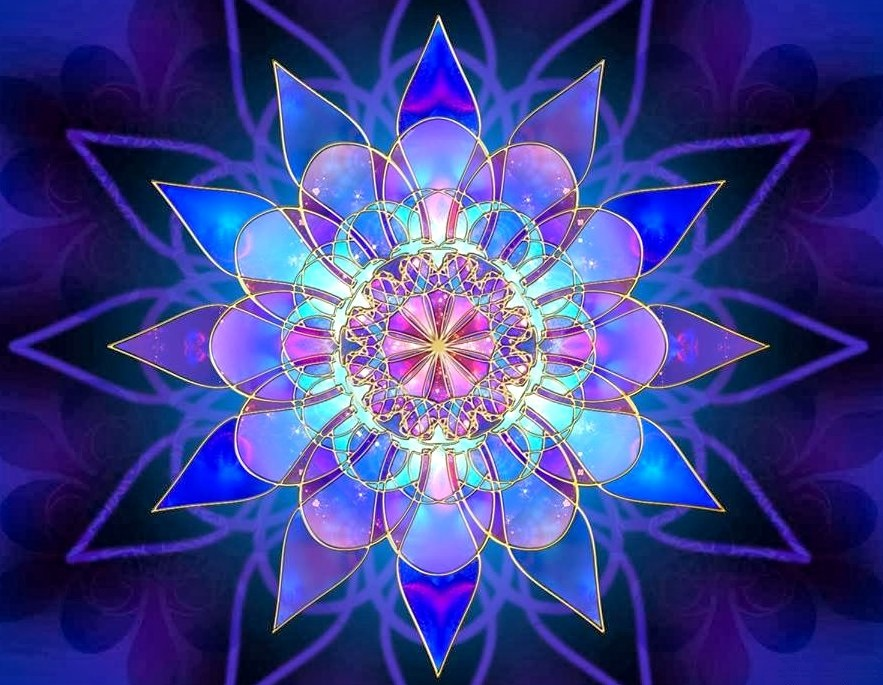Mandala by Nathan Smith 2005 Google image from https://www.pinterest.com/pin/522136150518677182/