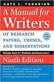 A Manual for Writers of Research Papers, Theses, and Dissertations, Seventh Edition: Chicago Style for Students and Researchers (Chicago Guides to Writing, Editing, and Publishing) (Paperback) by Kate L. Turabian , Wayne C. Booth, Gregory G. Colomb, Joseph M. Williams, University of Chicago Press Staff
