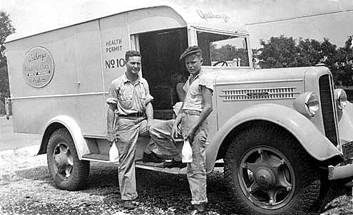Anthony�s Pure Milk delivery truck from 1937 image from http://historicnashville.wordpress.com/2009/01/14/anthonys-pure-milk-company/
