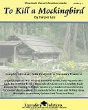 To Kill a Mockingbird Literature Guide (Perfect Paperback) by Kristen Bowers