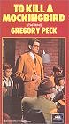 To Kill a Mockingbird (1962) (VHS) Starring: Gregory Peck, Mary Badham Director: Robert Mulligan