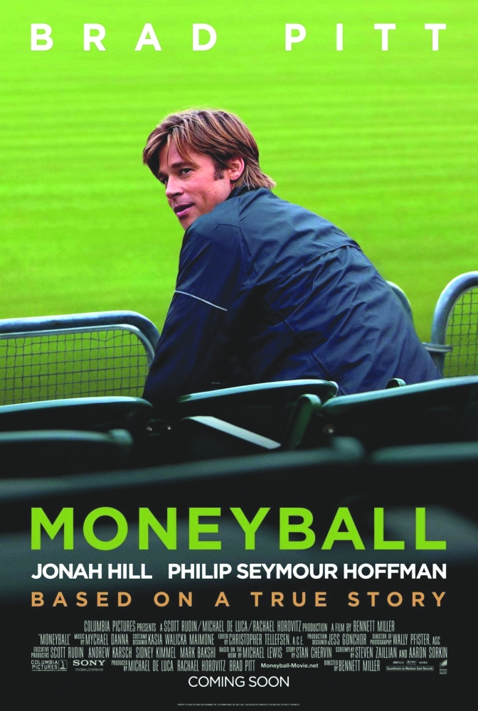 Moneyball Movie Poster Google image from http://maceandcrown.com/wp-content/uploads/2011/10/moneyball-poster.jpg