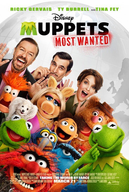 Muppets Most Wanted Movie Poster Google image from http://www.impawards.com/2014/muppets_most_wanted.html