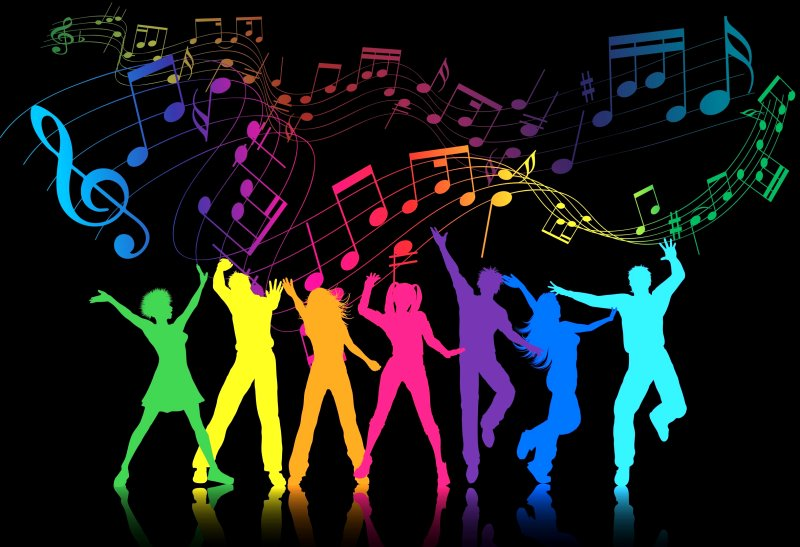 Colorful Music Notes With People Dancing Google image from https://community.sprint.com/baw/servlet/JiveServlet/showImage/38-4948-49831/Party+Planning+Form+Page-Wallpaper-Colorful+Music+Notes+With+People+Dancing.jpg