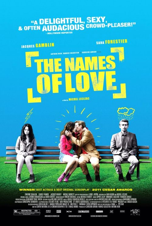 The Names of Love (France 2010) Movie Poster Google image from http://www.shockya.com/news/wp-content/uploads/the_names_of_love.jpg