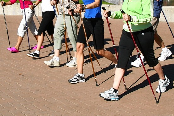 Nordic Pole Walkers Google image from http://www.mkfitness4life.com/wp-content/uploads/2014/07/nordic-pole-walking.jpg