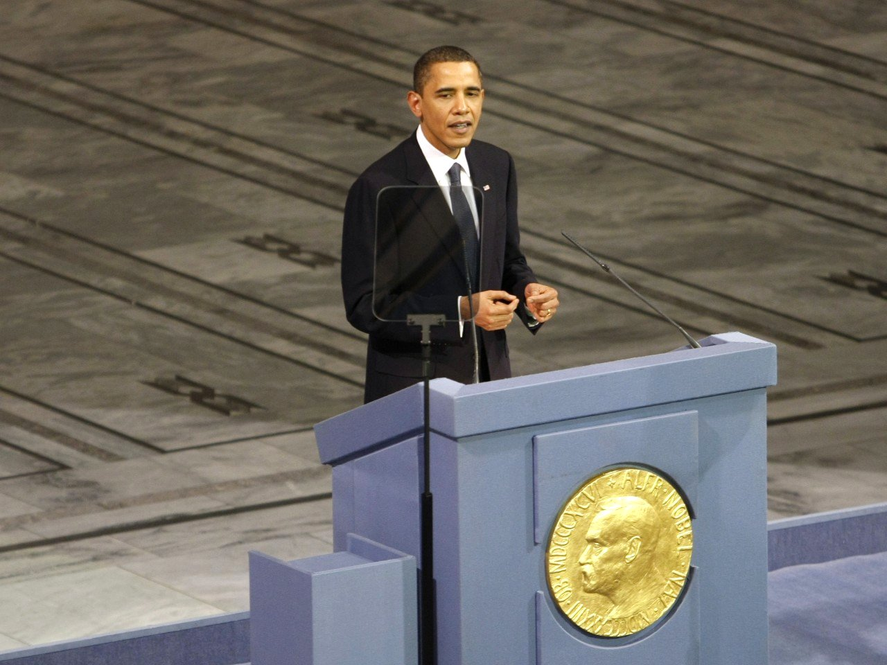 President Barack Obama's Accceptance of Nobel Peace Prize Google image from http://media.salon.com/2009/12/the_strange_bipartisan_consensus_on_obamas_nobel_speech-1280x960.jpg