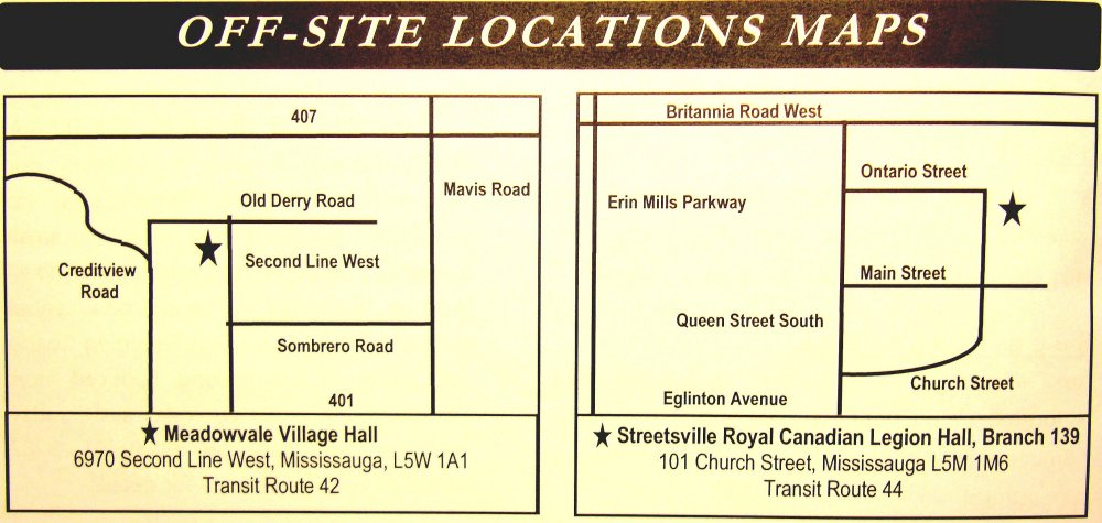 Off Site Locations Maps from Square One Older Adult Centre Brochure