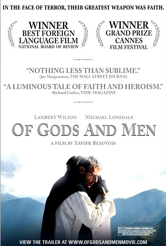 Of Gods and Men Movie Poster Google image from http://collider.com/wp-content/uploads/of-gods-and-men-movie-poster-1.jpg