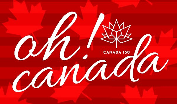 Oh! Canada - Canada's 150 Birthday Party image from Erinview email 23Jun17