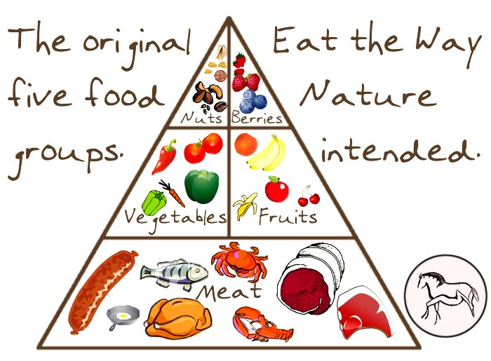 Paleo Pyramid Google image from http://livinglikelinds.files.wordpress.com/2012/09/paleopyramid.png