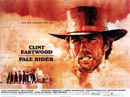 Pale Rider Movie Poster Google image from http://youjivinmeturkey.com/tag/pale-rider/