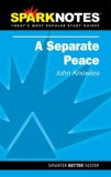 Spark Notes A Separate Peace (Paperback) by John Knowles, SparkNotes Editors