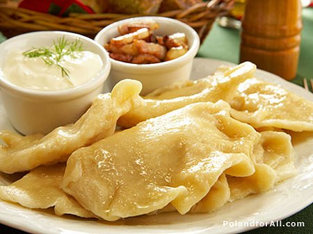 Polish Perogies Google image from http://moniquesullivan.files.wordpress.com/2009/03/polish-pierogies-filled-with-cheese-and-potatoes-with-cream-and-bacon.jpg