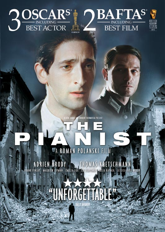 The Pianist (2002) Movie Poster Google image from  http://www.blog.daiversion.com/wp-content/uploads/2012/08/the-pianist-movie-poster.jpg