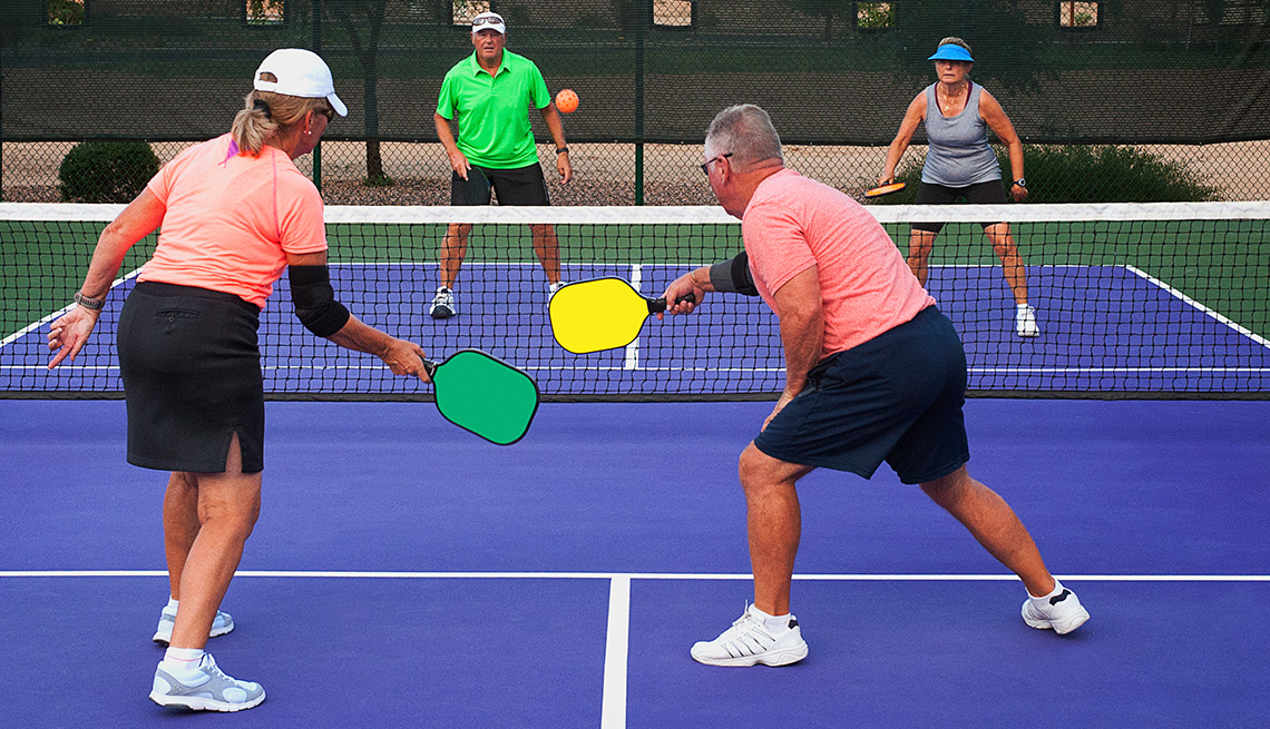 Play Pickleball for Health Benefits by Christina Ianzito, AARP, July 6, 2018 Google image from https://www.aarp.org/home-family/friends-family/info-2018/pickleball-health-social-emotional-benefits.html