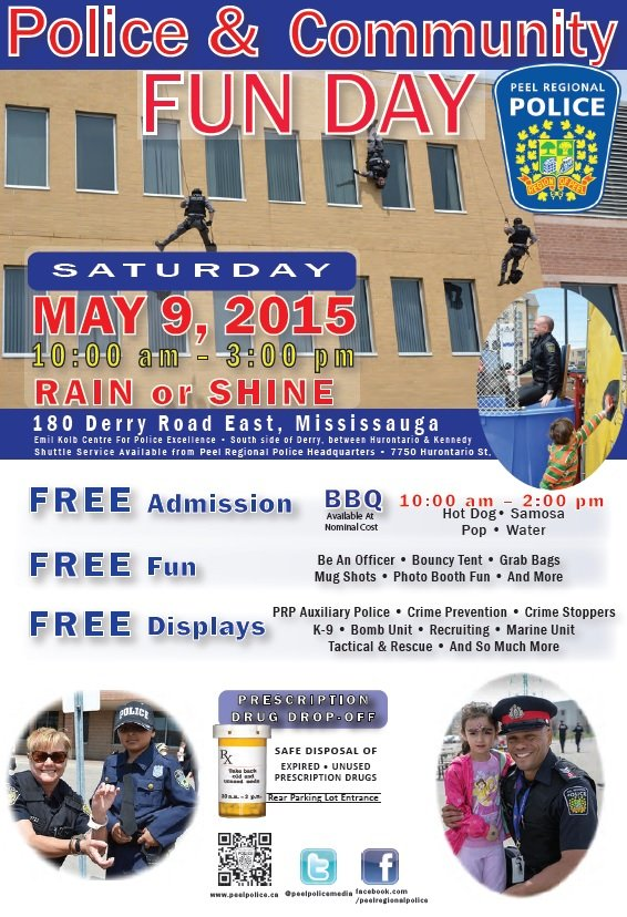 Police and Community Fun Day image from http://www.peelpolice.ca/