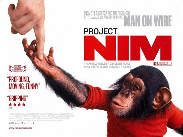 Project Nim (2011) Google image from http://www.phawker.com/wp-content/uploads/2011/06/Folder_7/project_nim_hollywood_movie_poster.jpg