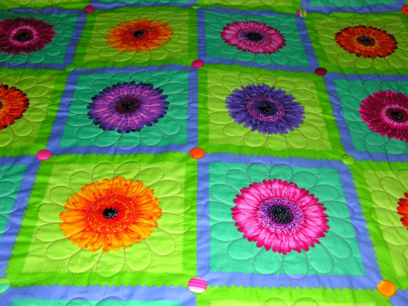 Colorful Quilt Google image from http://www.quiltingkat.com/gallery/bed/colorfulDaisyClose.JPG