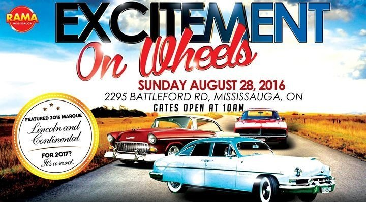 Excitement on Wheels Car Show at Rama Gaming Centre Mississauga Google image from https://cdn-az.allevents.in/banners/ba394b5bed9b4f52fa600f27e914c34b
